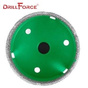 Image 4 - Drillforce 4 ADET Elmas Delik Testere Seti 35/40/50/68mm M14 Dayanıklı Carborundum Seramik M14 iplik Matkap Çekirdek