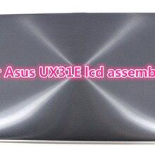 Полная сборка для ноутбука Asus Zenbook UX31E Светодиодный ЖК FHD экран дигитайзер замена стекла