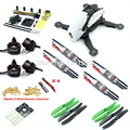 DIY FPV race mini drone Robocat 270 quadcopter frame kit pure carbon mini CC3D + MT2204 2300kv + littlebee 20A Pro ESC + 5030