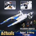 2017 Nueva LEPIN 05054 679 Unids Star Wars Rebeldes U-Wing Fighter Modelo Kits de Construcción Juguetes de los Ladrillos Bloques regalo Con 75155