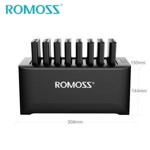 Image 5 - 가족 및 비즈니스를위한 ROMOSS 강력한 충전기 8PCS 10000mAh 전원 은행 + 8PCS 2 in 1 충전 케이블