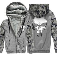 wool liner Winter Warm Hoodies 2019 fashion harajuku Hooded fleece thicken Coat men fitness Thicken Zipper Jacket Sweatshirts pp