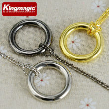 10 pcs/lot magic lingkaran magic kalung rantai & cincin rilis magic alat peraga mainan trik kingmagic(China)