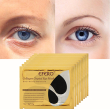 15Pair=30PCS Collagen Crystal Eye Mask Eyelid Patches for Eyes Care Pad Anti-Wrinkle Gel Face Remove Dark Circles efero