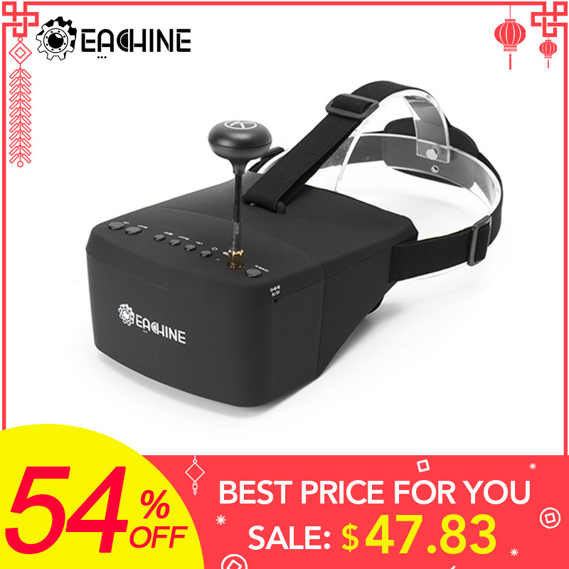 New Arrival Eachine Ev800 5 Inches 800x480 Fpv Video Goggles 5.8g 40ch Raceband Auto-searching Build In Battery