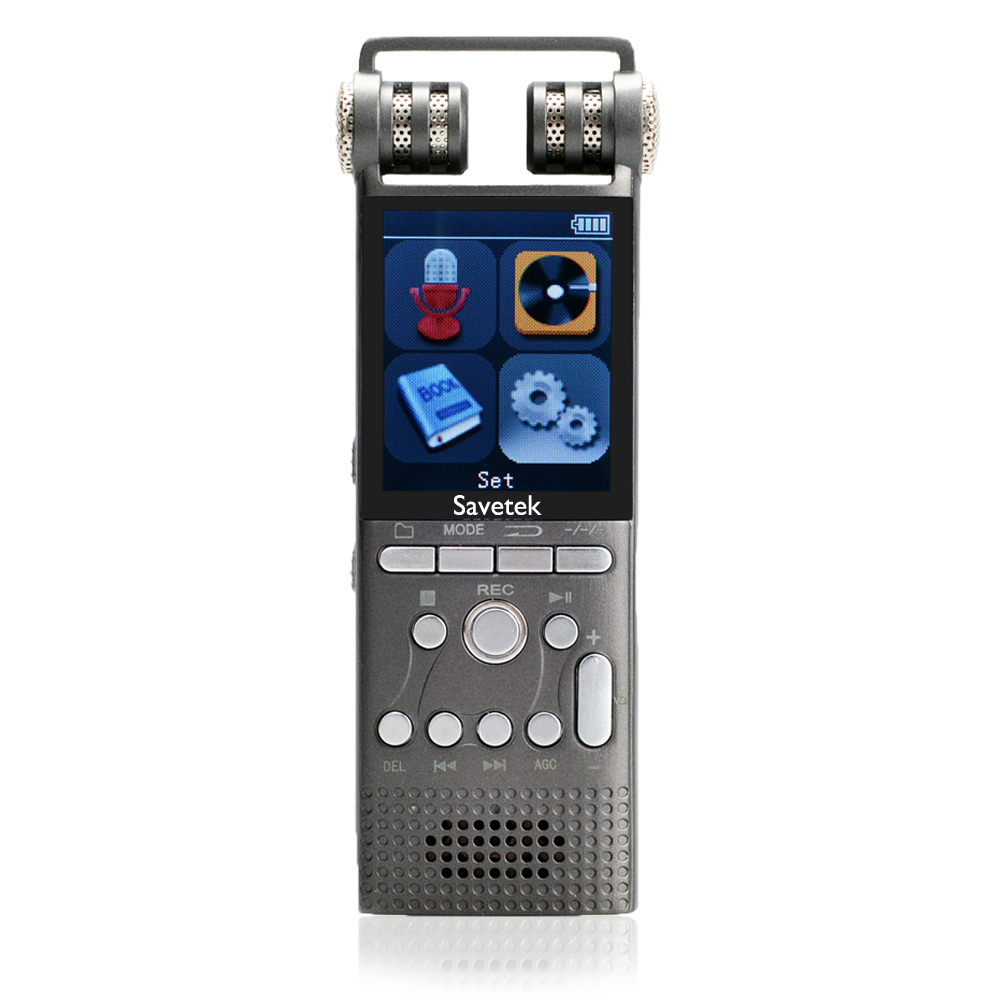 Professional Voice Activated Digital Audio Voice Recorder 8GB 16GB USB Pen Non Stop 100hr Recording PCM 1536Kbps Hifi MP3 Player-in Digital Voice Recorder from Consumer Electronics    1