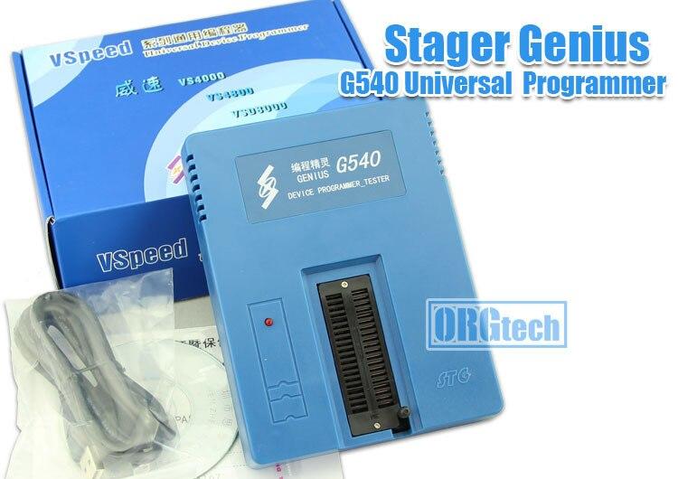 Stager Genius G540 Universal Programmeur soutien MCU 51 AVR PIC Mémoire EEprom Ni flashHigh Qualité taux de réparation moins que 1%