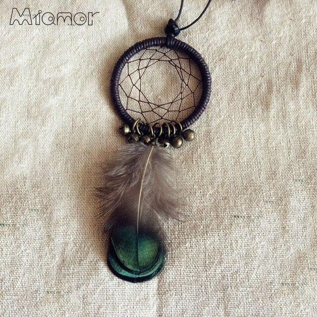 MIAMOR Cute MINI Dreamcatcher Necklace Handmade Dream Catcher Net Delectable Mini Dream Catcher Bulk