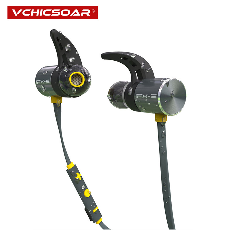 Vchicsoar BX343 Wireless Headphone Bluetooth IPX5 Waterproof Earbuds Magnetic Headset Earphones With Microphone For Phone Sport