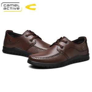 Image 5 - Camel Active 2019 printemps/automne nouvelle marque de luxe en cuir véritable hommes chaussures décontractées en cuir de vache hommes Banquet fête mocassins formels