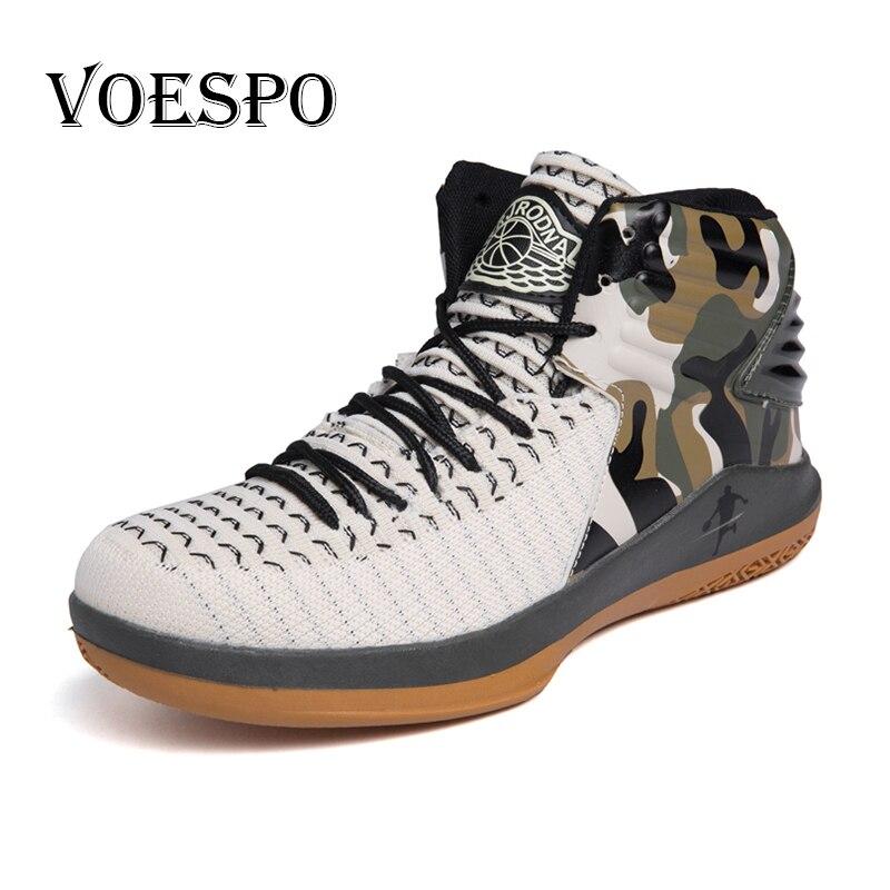2018 Nouveau Air Mesh Haute Top chaussures de basket Hommes Respirant Surface Amortissement Baskets boots militaires Jordan chaussures de basket