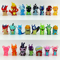 8pcs/lot New toys Anime Cartoon Slugterra PVC Action Figures Mini Dolls gifts for Child