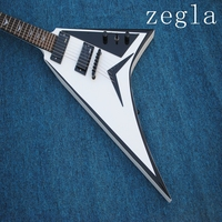 Wholesale Guitar New Arrival Jackson Flying V Electric Guitar Mahogany In White free shipping