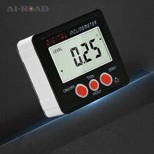 Ip54 Precision Electronic Digital Inclinometer 4*90 Metric Box Measuring Instrument Slope Meter Level