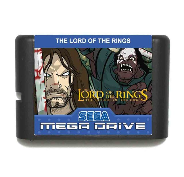 The Lord Of The Rings The Return Of The King 16 bit MD Game Card For Sega Mega Drive For Genesis