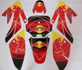 Motocross motocicleta RACING MOTO CRF 70cc emblems graphics kits decals STICKER for HONDA motorcycle DIRT PIT BIKE PARTS CRF70