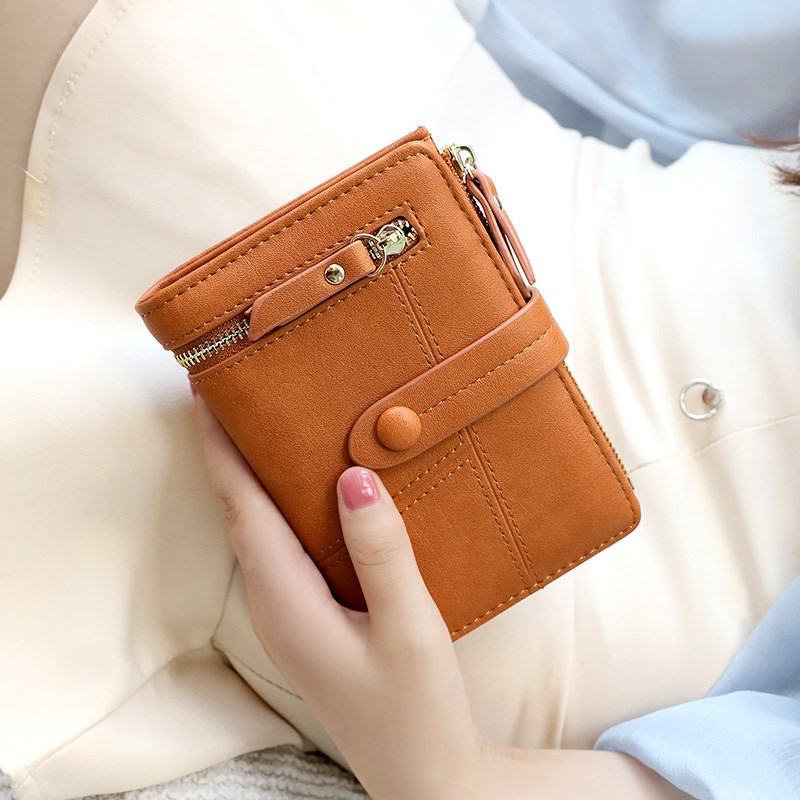 Carteras 2018 New Fashion Women's Purse Card Holder Women Small Wallet Zipper Clutch Coin Purse Female Bag Portefeuille Femme