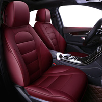 Auto Universal Cowhide leather seat cover For Volkswagen vw passat b5 b6 b7 polo 4 5 6 7 golf tiguan car automobiles accessories