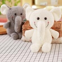 купить 1 Pcs Baby Stuffed Plush Toys for Children Toys Kids Adult Soft Elephant Animal Girls Toy Pillow Doll Decoration Birthday Gift дешево