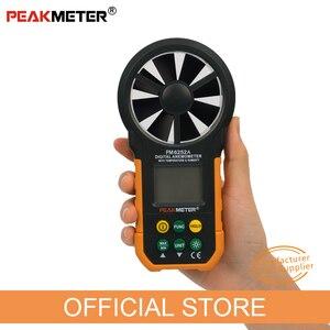 Image 3 - Digital Anemometro Velocità Del Vento Volume Air Metro di Misura PM6252A 30m/s Display LCD