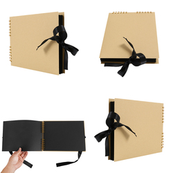 20/40 Pages Photo Albums Scrapbook Paper DIY Craft Album Scrapbooking Picture Album for Wedding Anniversary Gifts Memory Books