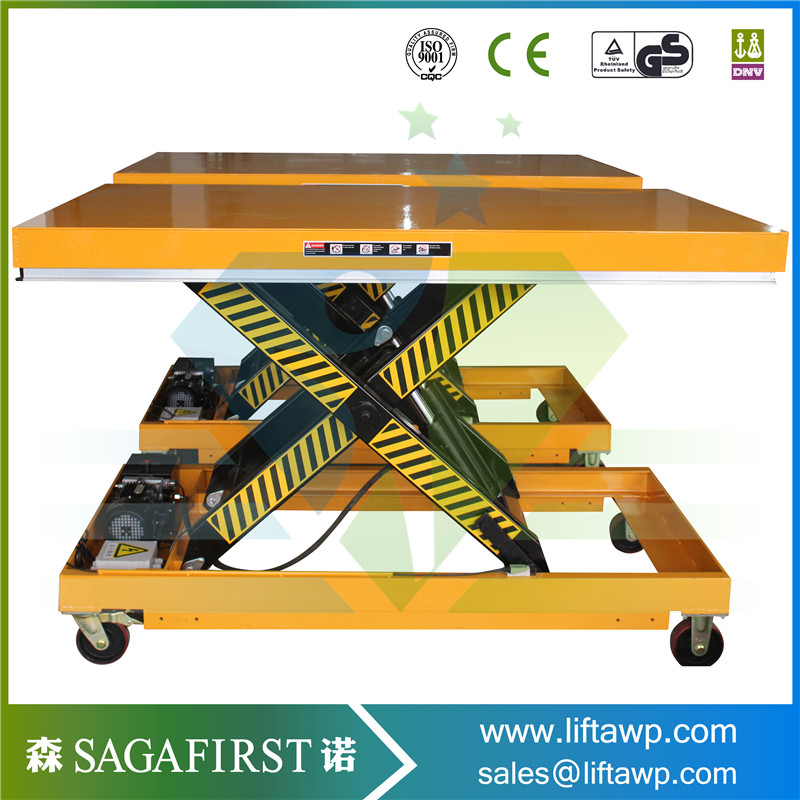 Wood Factory Used Electric Hydraulic Work Table