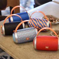 Idrop Draadloze TG112 Outdoor Draagbare Speaker Bluetooth Rode Blauw