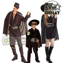 Robin Costume Halloween Costume For Father Mother Kids Boy Anime Role-Playing Disfraces Carnival Toddler Costume Clothing Set