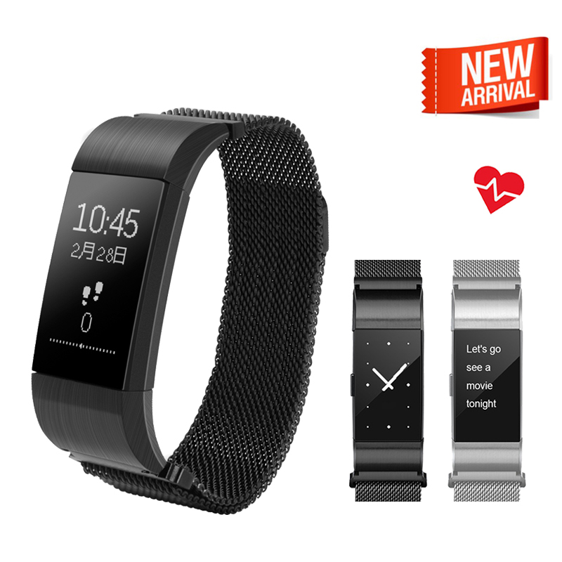 Waterproof Smart Band S18 Heart Rate Blood Pressure Monitor Smart Wristband Fitness Tracker Bracelet For IOS
