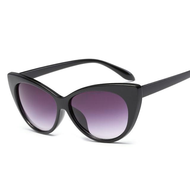 Fashion Cat Eye Sunglasses Retro Brand Designer Women Sun glasses Gafas Shades For Lady Vintage Eyewear Female Oculos de sol