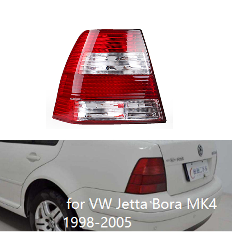 MZORANGE Rear Tail Lights For  Jetta Bora MK4 IV Sedan 1999 2000 2001 2002 2003 2004 2005 Tail Light Brake Light Turn Light