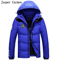 Free shipping 2017 Winter Men Medium Long Style Hooded Down jacket Coat Thickened Windproof Waterproof wadded coat 200hfx