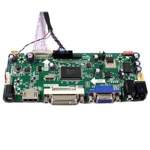 Image 4 - HDMI DVI VGA LCD плата контроллера + 11 дюймов HSD110PHW1 1366x768 ЖК экран