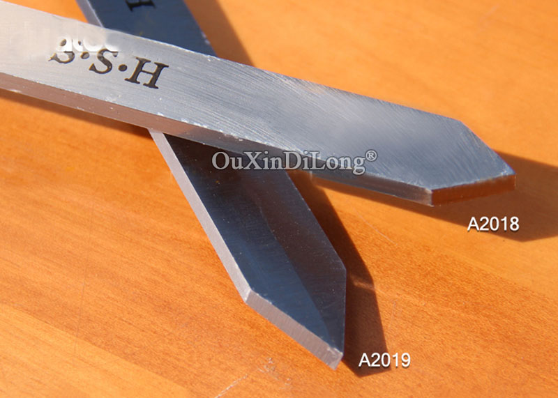 Купить с кэшбэком 1PCS High Speed Steel A2018/A2019 Woodworking Knife Cutter Diamond Knife HSS Woodworking Tools JF1679