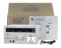 AC 250 в 2/20mA Desktop тестер измерения утечки тока метр RK2675AM с светодиодный цифровой дисплей 500VA сигнализатор утечки оборудования