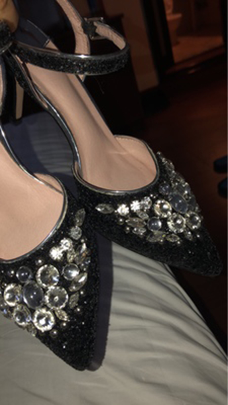 82b73181487 Detail Feedback Questions about Female Crystal High Heel Shoe Prom ...