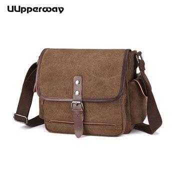 806e90682999 Product Offer. Холщовые однотонные мужские сумки через плечо Винтаж  Почтальон Сумка для школы высокое качество Hasp повседневные короткие  дорожные ...