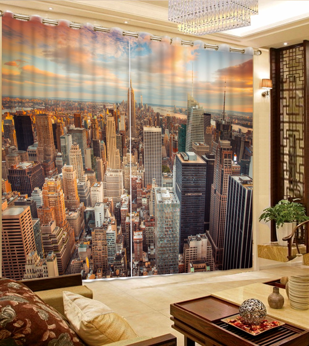 Modern Curtains 3d Living Room Curtains Building Decoration