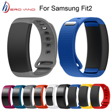 Hero Iand Watch Band Silicone Replacement Wristband For Samsung Gear Fit 2 SM-R360 watch