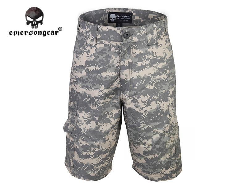 Emersongear All-weather Outdoor Tactical Shorts Pants Camoflage Emerson Airsoft Military Camo Wargame  ACU EM7029