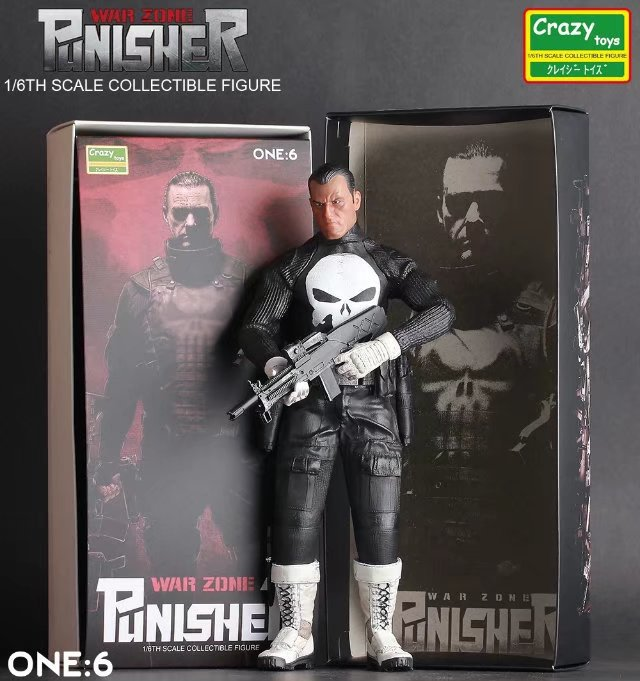NEW hot 40cm Super hero Punisher collectors action figure toys Christmas gift doll new hot 18cm super hero justice league wonder woman action figure toys collection doll christmas gift with box