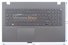 New for Acer Aspire E5-522 E5-522G keyboard with C cover Palmrest UK layout(China)