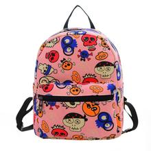 kai yunon 2016 Women Canvas Shoulder Bag Printing Bag School Backpack Rucksack Aug 24