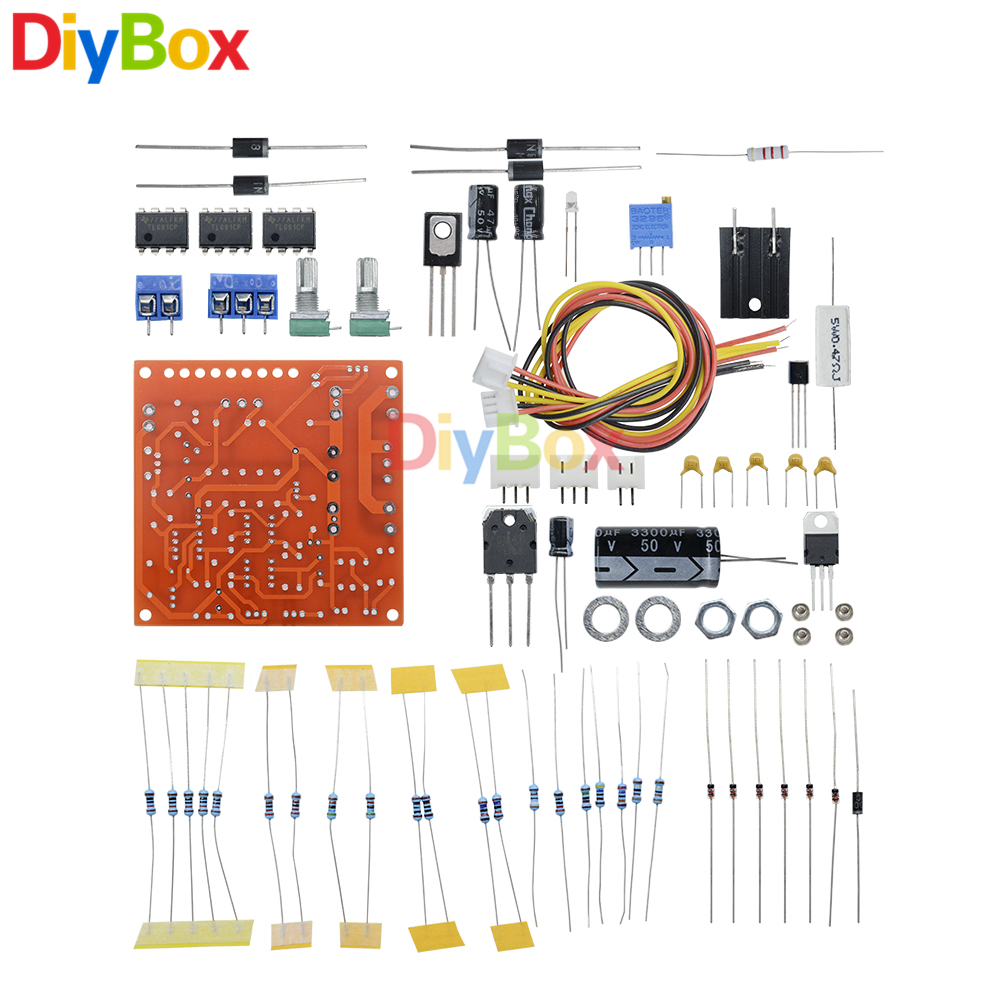 Dc 12v 3a Adjustable Voltage Regulator Power Supply Continuously 7805 Circuit Further Solar Battery Charger 2