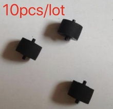 10Pieces/Lot  1mm * 9mm 6mm With Shaft Tape Recorder Amplifiers Pinch Roller