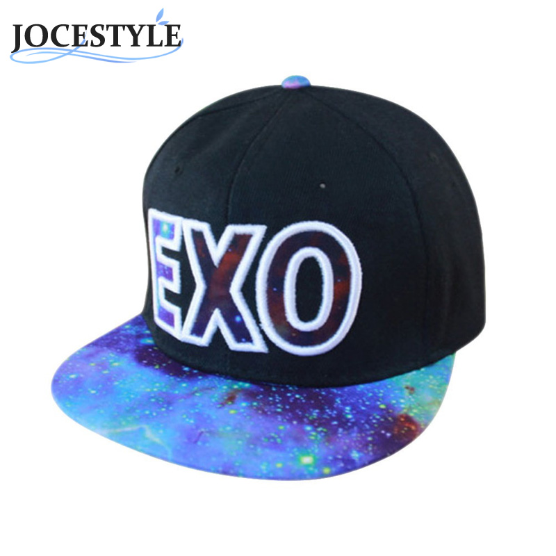 EXO Letter Printed Baseball Caps 2017 Outdoor Sports Caps Men Fans Favorite Adjustable Snapback Hats Hip-hop Hat Unisex Cap Hot телевизоры и плазменные панели