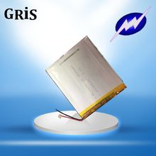 DIY 10 inch tablet computer battery /Q79 tablet battery 3.7V polymer lithium battery Rechargeable Li-ion Cell