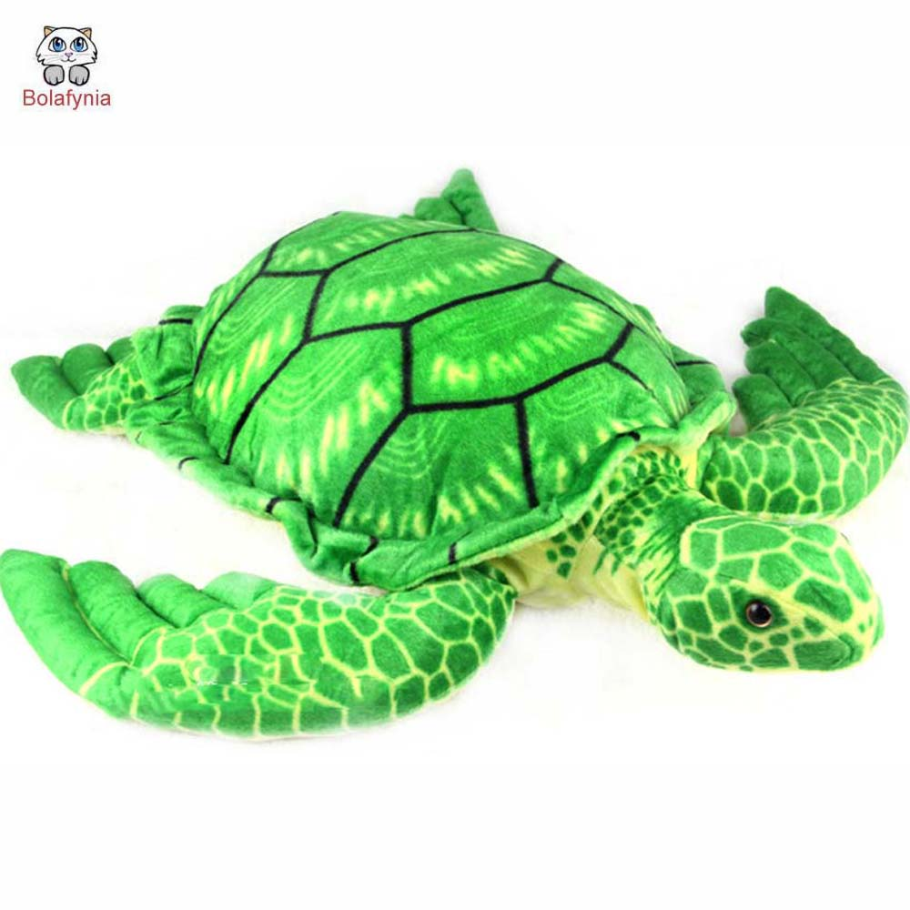 BOLAFYNIA Children Plush Stuffed Toy Turtle pillow see animal Baby Kids Toy for boy Christmas Birthday Gift stuffed animal 44 cm plush standing cow toy simulation dairy cattle doll great gift w501
