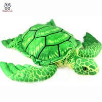 BOLAFYNIA Children Plush Stuffed Toy Turtle pillow see animal Baby Kids Toy for boy Christmas Birthday Gift
