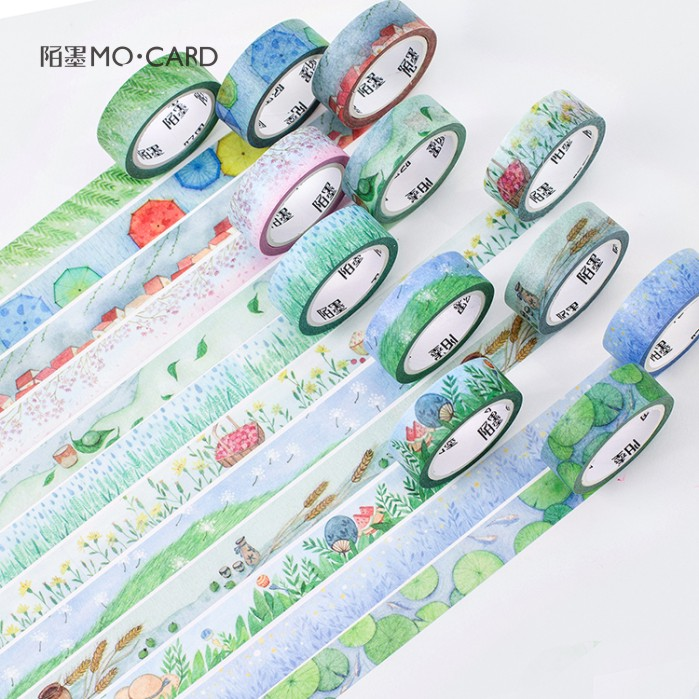 15mm*7M Creative Twenty-Four Solar Terms Washi Tape Adhesive Tape DIY Scrapbooking Sticker Label Masking Tape ветровка catimini catimini ca053ebahsy9